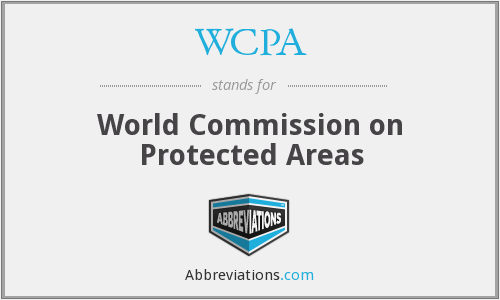 What does WCPA stand for?