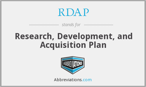 What does RDAP stand for?