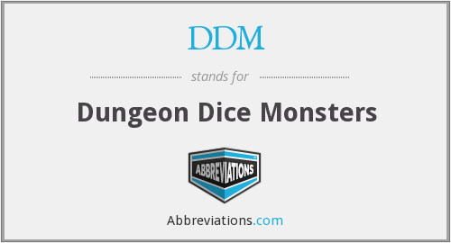 What does dice stand for?