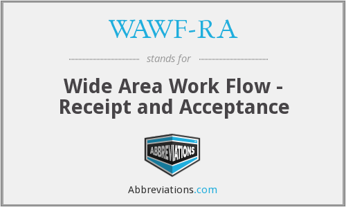 What does WAWF-RA stand for?
