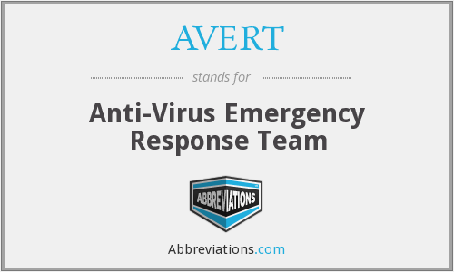 What does AVERT stand for?