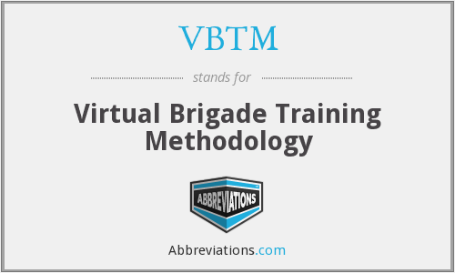 What does VBTM stand for?