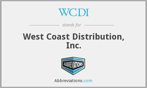 What does WCDI stand for?
