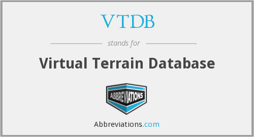 What does VTDB stand for?