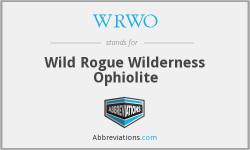 What does WRWO stand for?