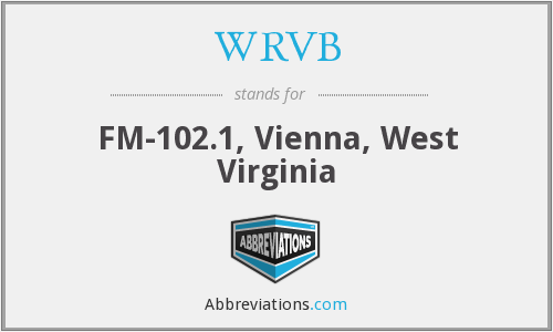 What does WRVB stand for?
