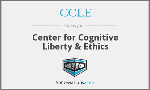 What does CCLE stand for?