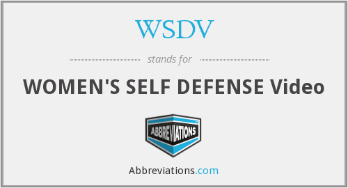 What does WSDV stand for?