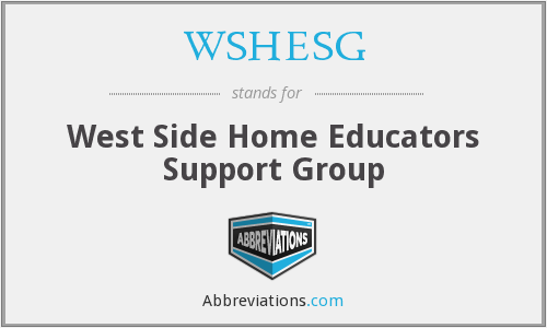 What does WSHESG stand for?