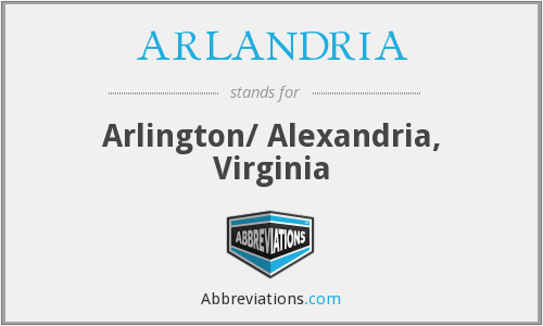 What does ARLANDRIA stand for?