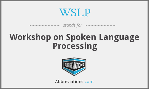 What does WSLP stand for?