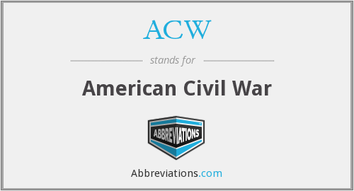 What does ACW stand for?