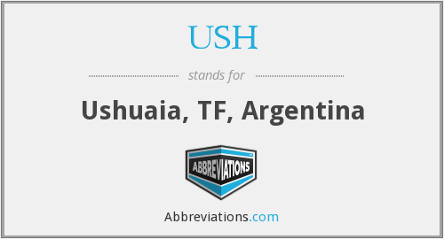What does USH stand for?