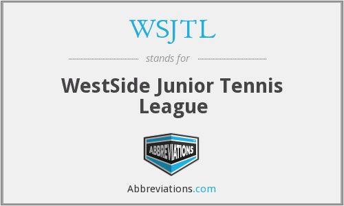 What does WSJTL stand for?