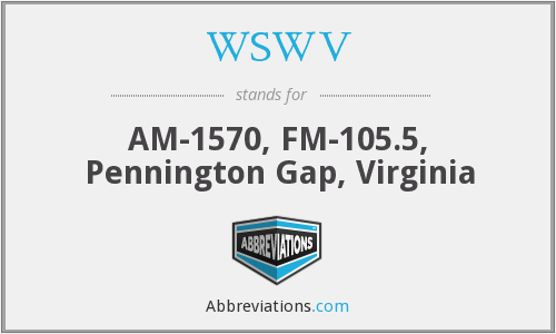 What does WSWV stand for?