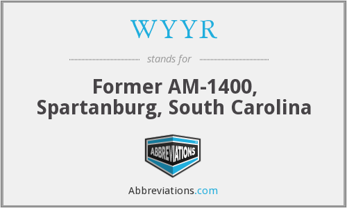 What does WYYR stand for?