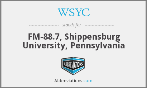 What does WSYC stand for?