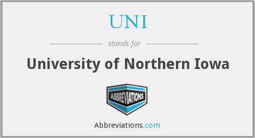 What does UNI stand for?