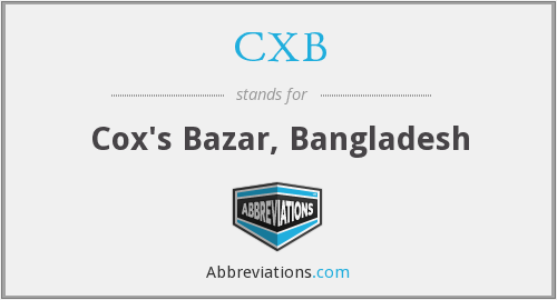 What does CXB stand for?