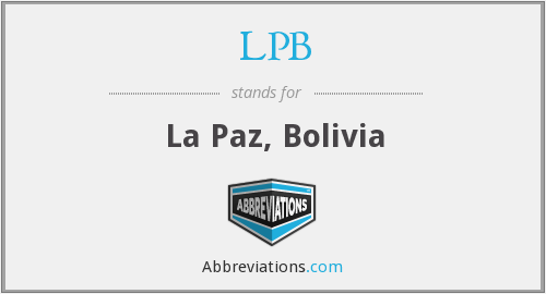 What does LPB stand for?