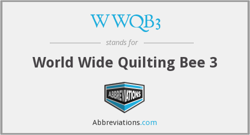 What does WWQB3 stand for?