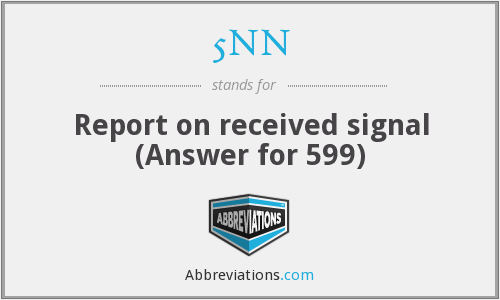 What does 5NN stand for?
