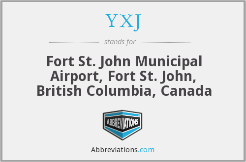 What does YXJ stand for?