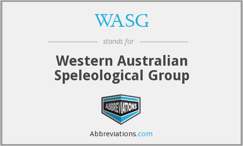 What does WASG stand for?