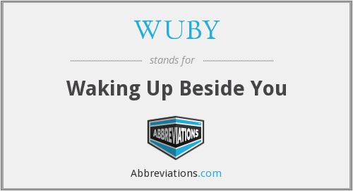 What does WUBY stand for?