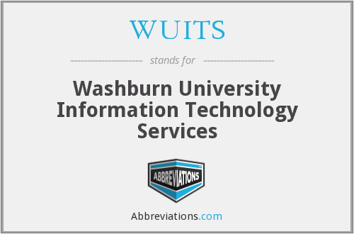 What does WUITS stand for?