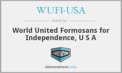 What does WUFI-USA stand for?