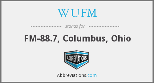 What does WUFM stand for?