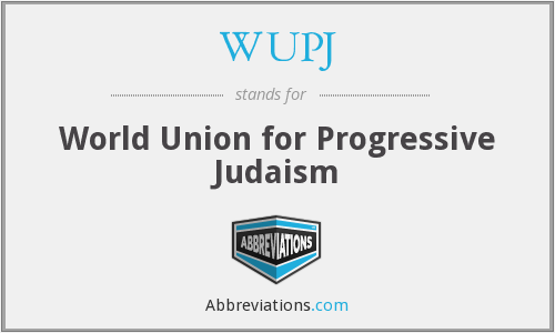What does WUPJ stand for?