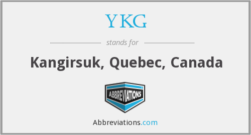 What does YKG stand for?