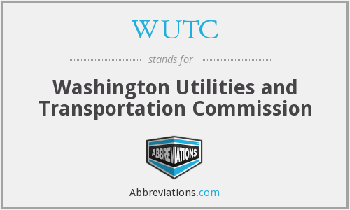 What does WUTC stand for?