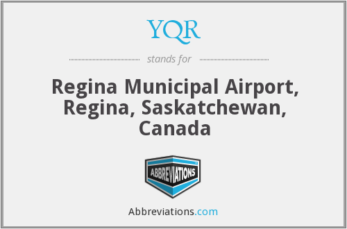 What does YQR stand for?