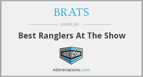 What does BRATS stand for?