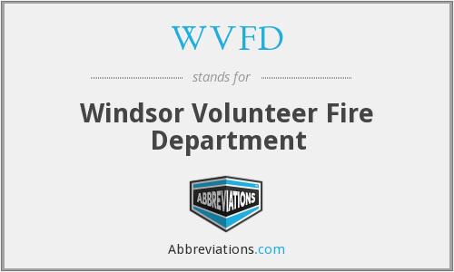 What does WVFD stand for?