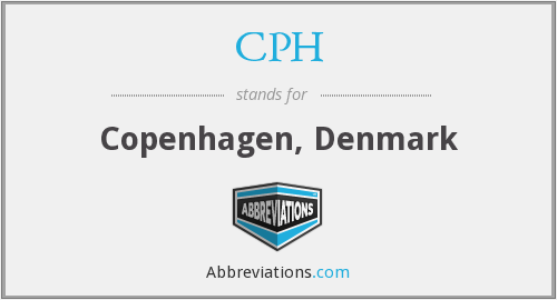 What does CPH stand for?