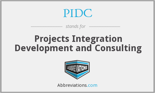What does PIDC stand for?