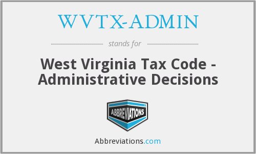 What does WVTX-ADMIN stand for?