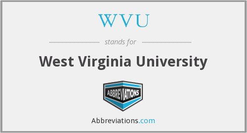 What does WVU stand for?