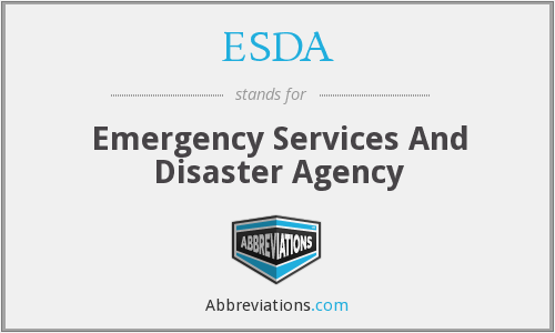 What does ESDA stand for?