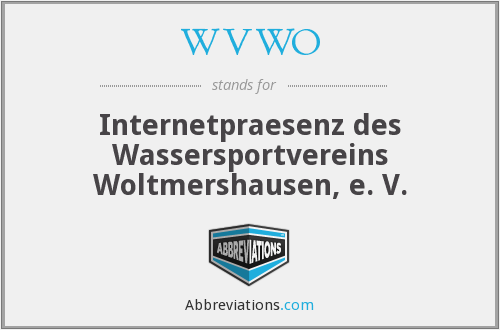 What does WVWO stand for?
