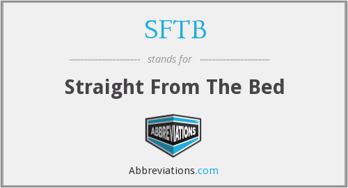 What does SFTB stand for?