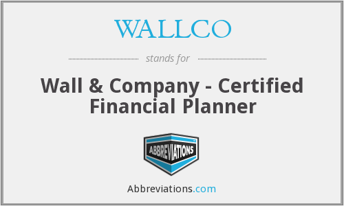 What does WALLCO stand for?