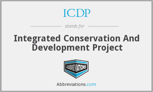 What does ICDP stand for?