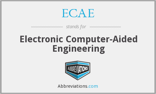 What does ECAE stand for?