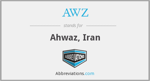 What does AWZ stand for?
