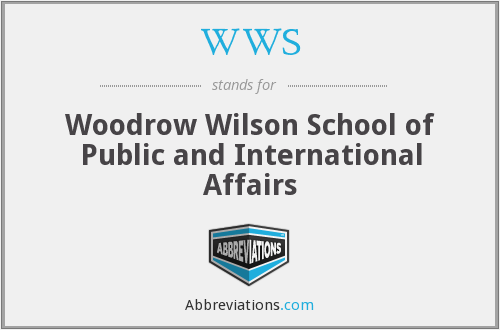What does WWS stand for?